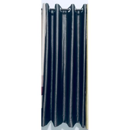 Davinci ผ้าม่านประตู ขนาด (150 x 250 ซม.) Y6002-4 สีเทา-น้ำเงิน