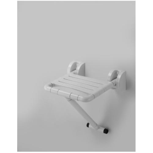 MOGEN  ที่นั่งอาบน้ำ พับเก็บได้ ขนาด 410 x 405 x 770 มม. ESA03 (TB:2014-20)  สีขาว