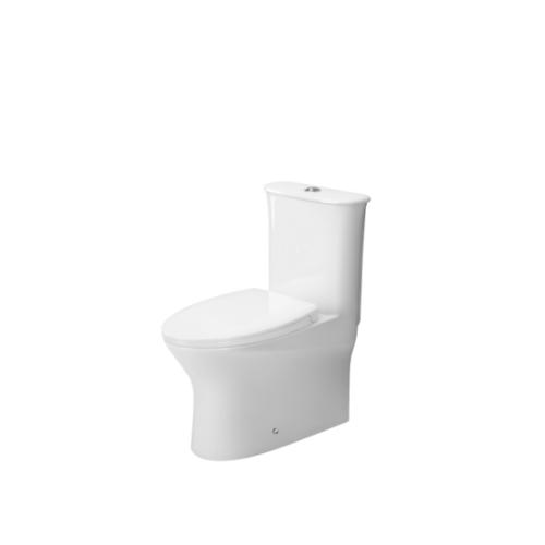 MOGEN โถสุขภัณฑ์ชิ้นเดียว (ฝา Slow Close) MO65 (ECO)  สีขาว