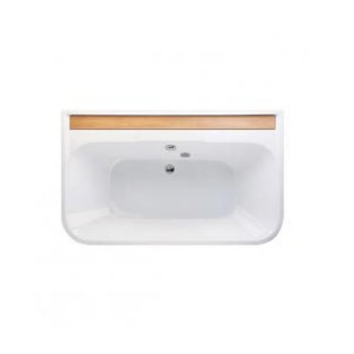MOGEN บราโว  อ่างอาบน้ำธรรมดา พร้อมสะดืออ่างอาบน้ำ (แบบฝัง)       MB12I สีขาว