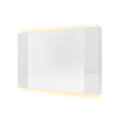 MOGEN ตู้กระจกเงา พร้อมไฟ MG05D  อินฟินิท  สีขาว