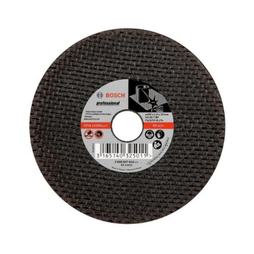 BOSCH ใบตัดสแตนเลส 05x1.0x16mm. (SA60T 2G)  สีดำ
