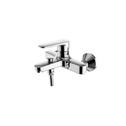 American Standard ก๊อกผสมอ่างอาบน้ำและยืนอาบแบบติดผนัง รุ่นFFASB211-6T1500BT0 American Standard FFASB211-6T1500BT0 สีโครเมี่ยม