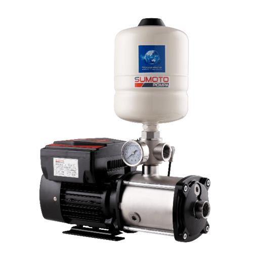 SUMOTO POMPA ปั๊มน้ำอัตโนมัติระบบอินเวอร์เตอร์ 1850 วัตต์ MVS803 สีขาว