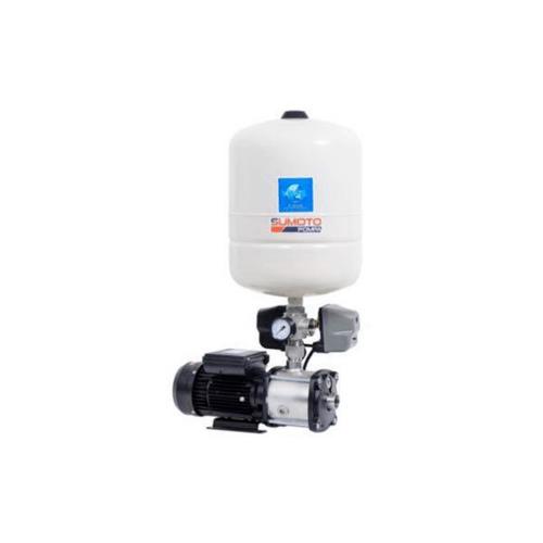 SUMOTO ปั๊มน้ำอัตโนมัติแรงดันคงที่แบบ Pressure Switch 550 วัตต์ MINI BOOST 305024 เงิน-ดำ