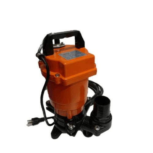 SUMOTO POMPA ปั๊มจุ่มดูดน้ำยางพารา 500 วัตต์  STICKY500 สีส้ม