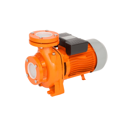 SUMOTO POMPA ปั๊มหอยโข่งชนิดหน้าแปลนน้ำมาก 3 Hp. NFM130A สีส้ม
