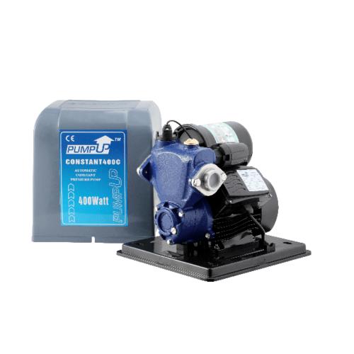 PUMP UP  ปั๊มน้ำอัตโนมัติแรงดันคงที่มีฝาครอบ 250W CONSTANT 250C สีน้ำเงิน