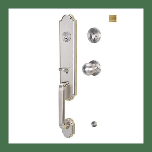 HAFELE มือจับประตูซิงค์อัลลอยด์ พร้อมระบบล็อค มาตรฐาน 489.94.649 สีทองเหลืองรมดำ ทองเหลืองรมดำ