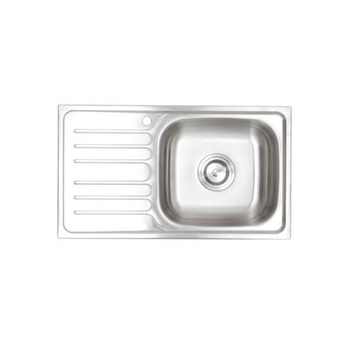 HAFELE อ่างล้างจาน 1 หลุมมีที่พักซ้าย 495.39.284 HAFELE 495.39.284