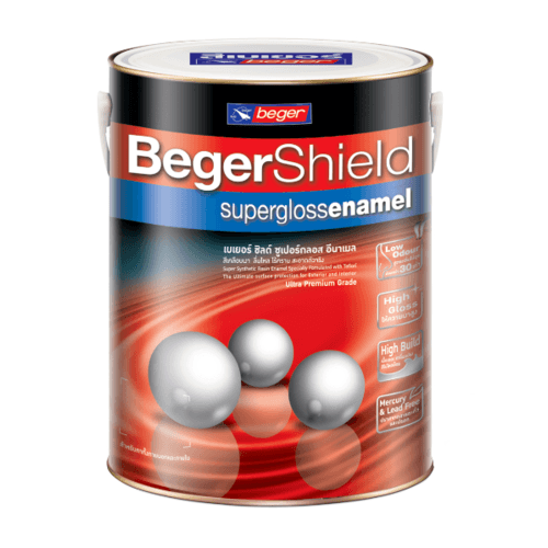 Beger สีน้ำมันเคลือบเงา เบส B Beger Shield (NEW) กป. -