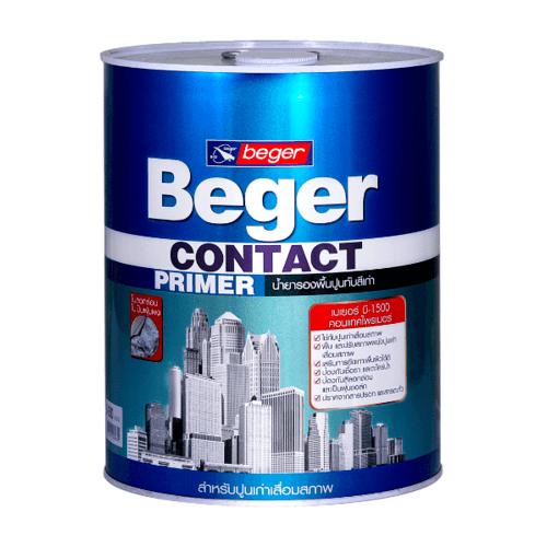 Beger เบเยอร์ B-1500 เคลียร์ คอนแทค ไพรเมอร์ (Clear Contact Primer) เบเยอร์ B-1500 เคลียร์ คอนแทค ไพรเมอร์ (Clear Contact Primer)