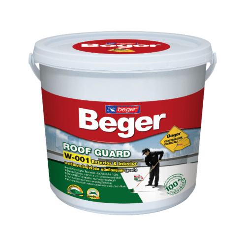 Beger เบเยอร์รูฟการ์ด 20 กิโลกรัม W001-700  สีเทา