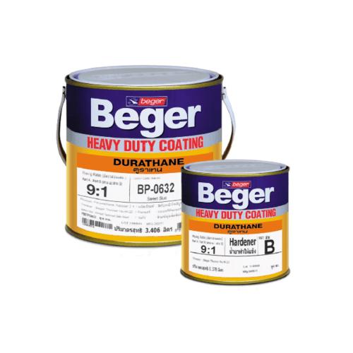 Beger สีทาทับหน้าภายนอก ดูราเทน  กล. BP-0657 Buff