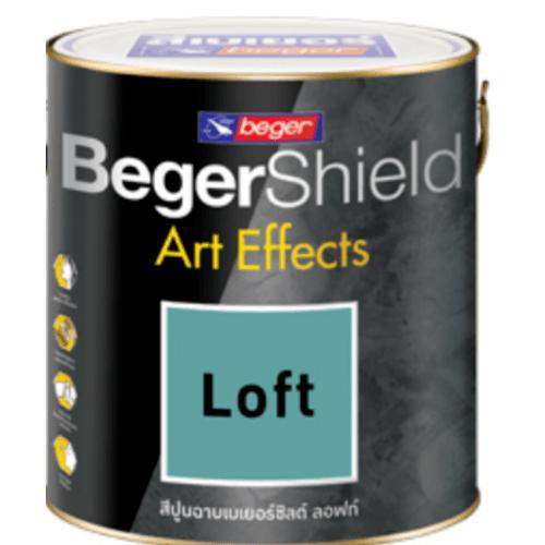 Beger สีเบเยอร์ชิลด์ อาร์ท เอฟเฟ็กซ์ ลอฟท์ AF-0102 (เทาสว่าง) สีเทา