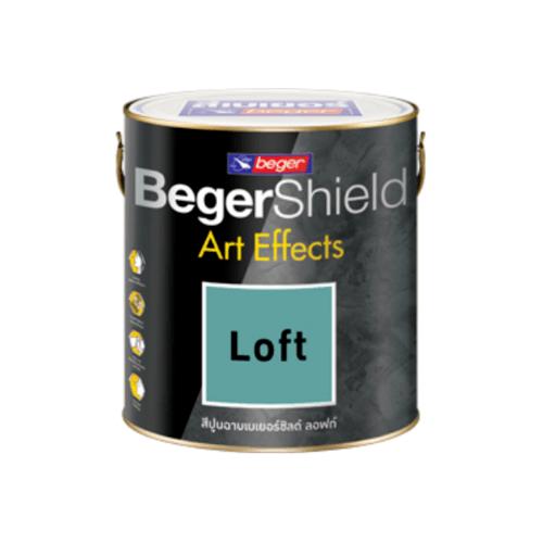 Beger เบเยอร์ชิลด์ อาร์ท เอฟเฟ็กซ์ ลอฟท์  AF-0204 (เขียว)