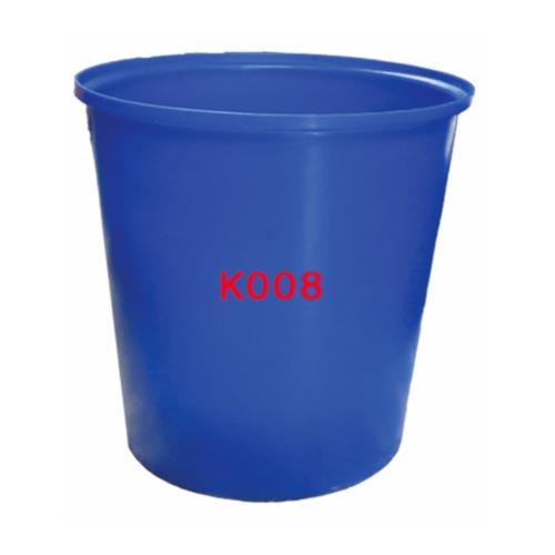 -  ถังปากกว้าง 200 ลิตร  K008 สีน้ำเงิน