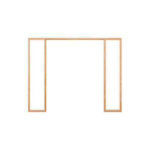 D2D วงกบประตู ไม้ดักลาสเฟอร์ ขนาด80x200cm. FJ (COM.6)