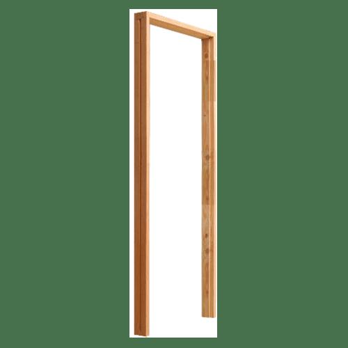 D2D วงกบประตูไม้ดักลาสเฟอร์ ขนาด 120x220ซม.  FJ ( COM.2 )