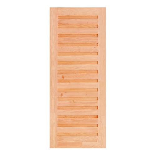 - ประตูไม้ดักลาสเฟอร์ ขนาด  90x200 cm. Eco Pine-031