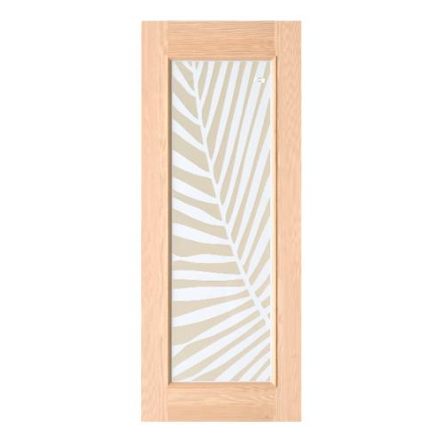 D2D ประตูไม้ดักลาสเฟอร์ 80x200 cm. 609