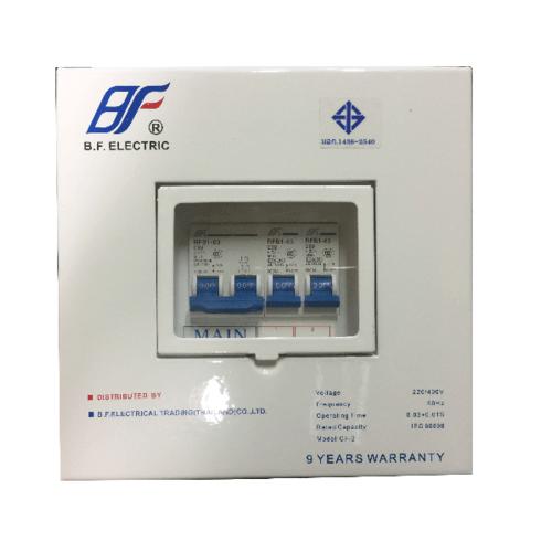 BF คอนซูเมอร์ 2 สาย 2 ช่อง 32A  PSC 2Way 32A