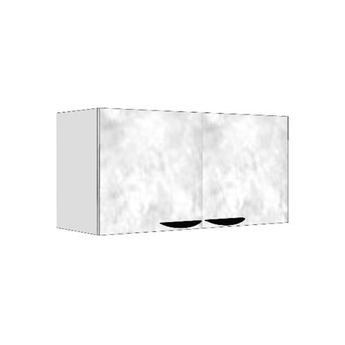 MJ ตู้แขวนคู่   สีหินอ่อนขาว GC-W408 -WM