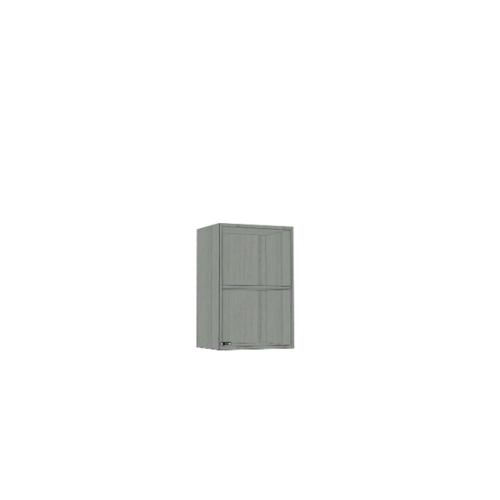 ตู้แขวนเข้ามุม SAV-WC6034-GW สีเทาลายไม้ MJ  เทา