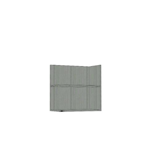 ตู้แขวนเสริม SAV-WS606L -GW สีัเทาลายไม้ MJ  เทา