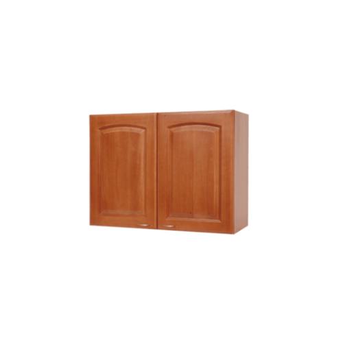 ตู้แขวนบานทึบโค้ง W608C-CH  เชอร์รี่