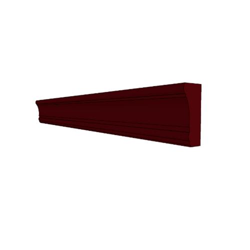 MJ คิ้วล่าง  B-5244-MK  สีมะค่า