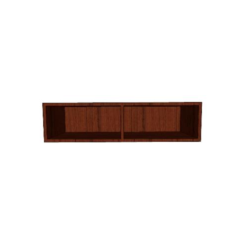 MJ ตู้แขวนเสริม สีวอลนัท SAV-WS280A -WN