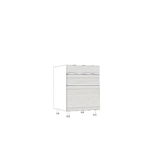ตู้ลิ้นชักบานเปิดเดี่ยว -ลิ้นชัก SAV-JSF826 -W สีขาว MJ  ขาว