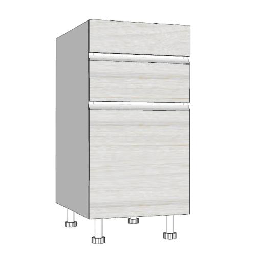 MJ ตู้ตั้งพื้นบานเปิดเดี่ยว+ลิ้นชัก SAV-JSF824