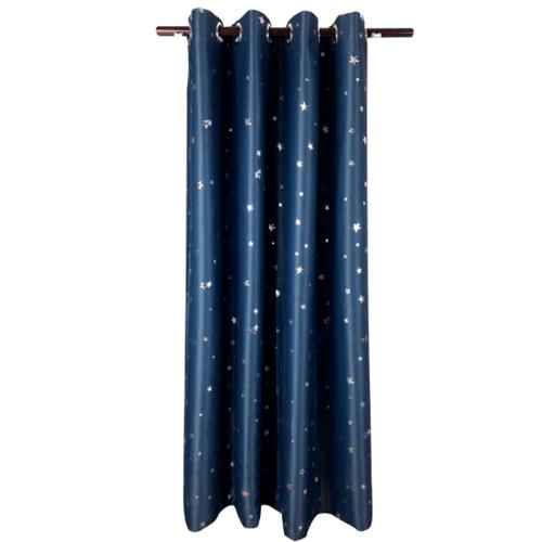 Davinci ม่านประตูตาไก่ ขนาด 150x250 ซม. 2901-5  D สีน้ำเงิน