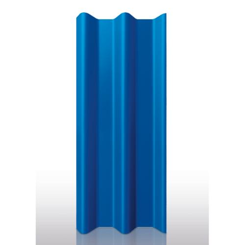 Dura one ลอนคู่ ขนาด 0.5x50x120 ซม. สีน้ำเงินวาสนา
