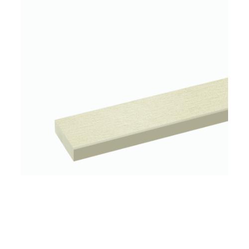 Dura one ไม้พื้นดูร่าวัน ลายเสี้ยน สีรองพื้น 10x300x2.5ซม. - สีรองพื้น