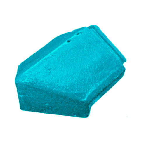โอฬาร ครอบปิดสันตะเข้ สีฟ้า (ลูกโลก) คอนโดร