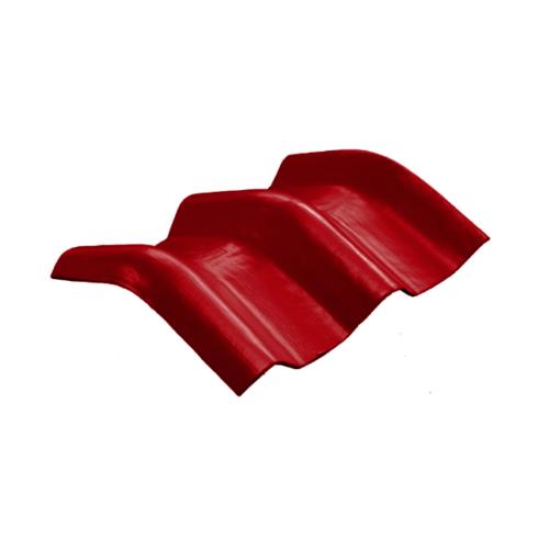 โอฬาร ครอบมุม 10 องศา สีแดงประกายทับทิม (ลูกโลก) ลอนคู่