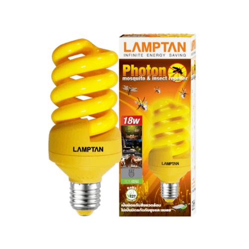 LAMPTAN หลอดสไปรัล 18W ไล่แมลง