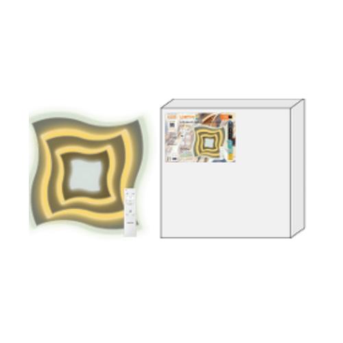 LAMPTAN โคมไฟเพดาน มัลติสมาร์ท LED 2*50W รุ่น SWIRL + รีโมท  Swirl