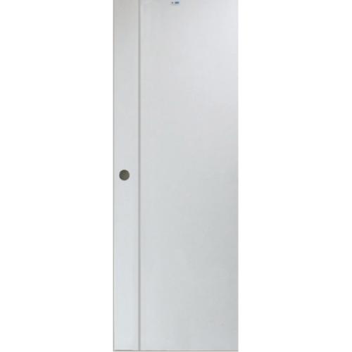 PEOPLE ประตู UPVC เซาะร่อง 70x200 ซม.  (ไม่เจาะ)  MG1 สีขาว