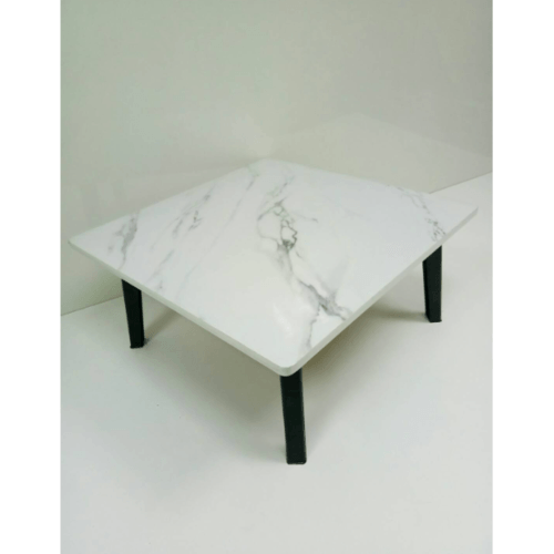 Delicato โต๊ะญี่ปุ่น ขนาด 60x60 ซม.  ลายหินอ่อน