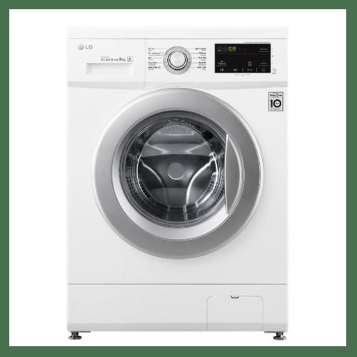 LG เครื่องซักผ้าฝาหน้า 9 กก. FM1209N6W.ABWPETH สีขาว