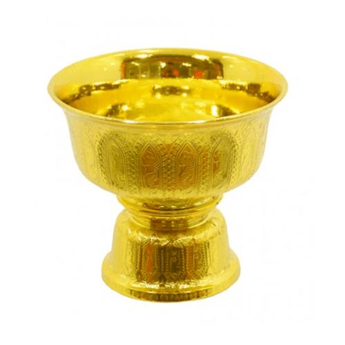 ศรัทธาธรรม พานรัฐธรรมนูญ 14x12x14 cm. - สีทอง