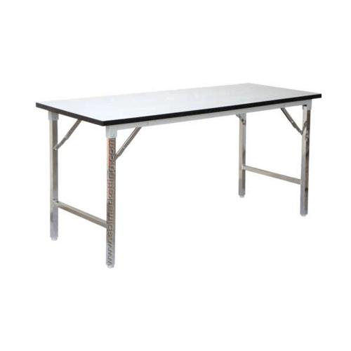 SBL โต๊ะอเนกประสงค์ขาพับได้ ขนาด 60x150x75 ซม. โต๊ะพับ TF-2460 สีขาว