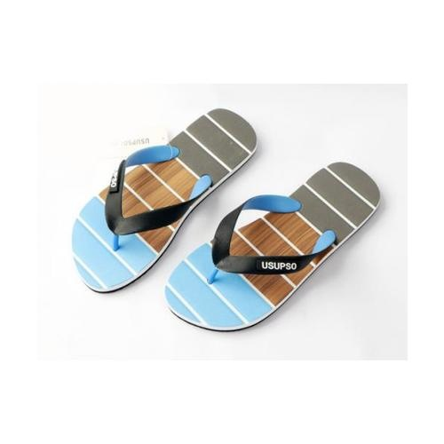 USUPSO รองเท้าแตะผู้ชาย No.41 สีฟ้า - สีฟ้า