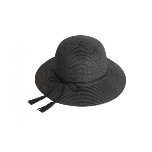 USUPSO หมวก Summer Ribbon สีดำ - สีดำ