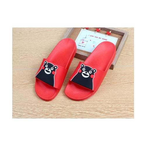 USUPSO  รองเท้าแตะ red 43-44 - สีขาว