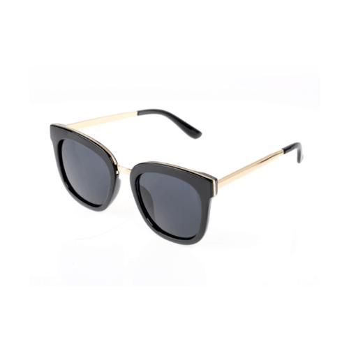 USUPSO แว่นตากันแดดผู้หญิง กรอบดำ small colorful สีดำ
